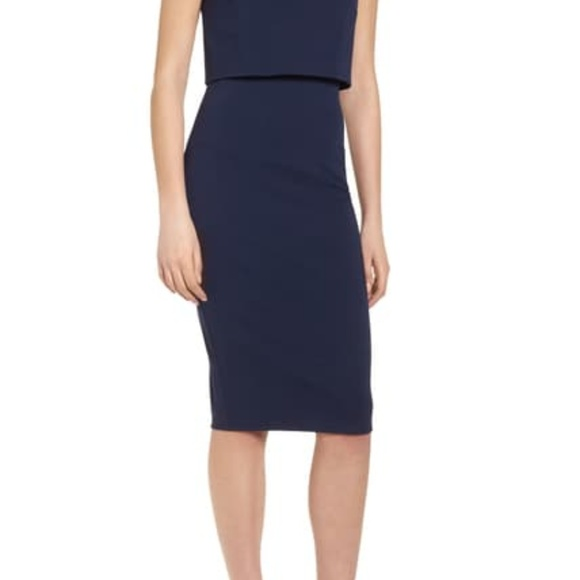 Soprano Dresses & Skirts - Popover Midi Body-Con Dress